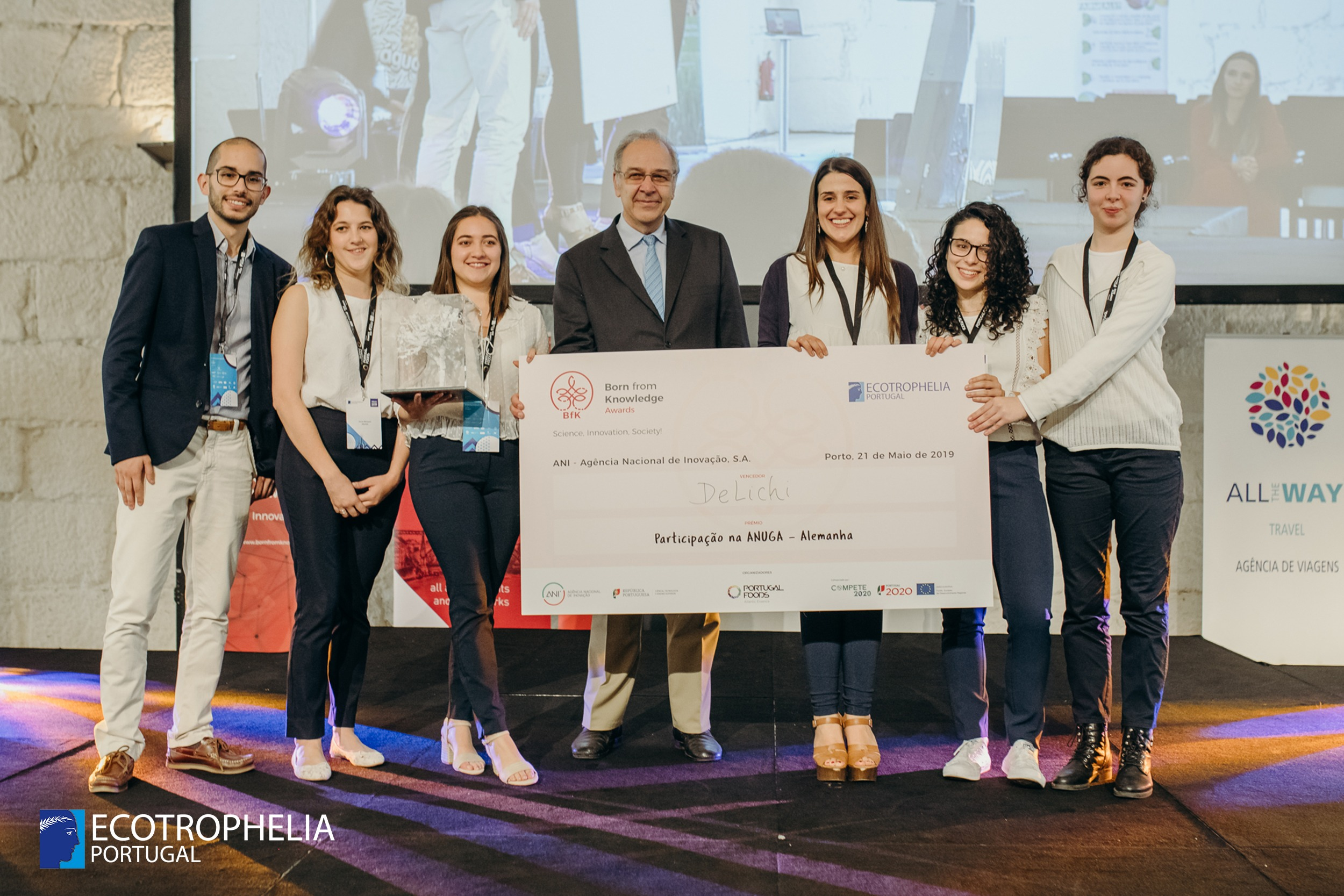 Ecotrophelia Portugal, Media, Notícias, Programa Born from Knowledge renova parceria com Prémio ECOTROPHELIA Portugal