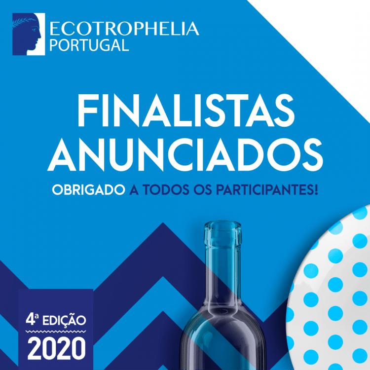 ECOTROPHELIA PORTUGAL 2020 - equipas finalistas